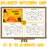 Halloween Battleships - Coordinates Game