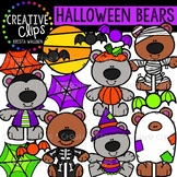 Halloween Bears: Halloween Clipart {Creative Clips Clipart}