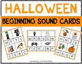 Halloween Beginning Sound Cards