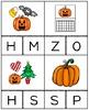 Halloween Beginning Sound Cards