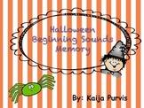 Halloween Beginning Sound Game