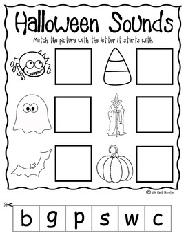 Halloween Beginning Sounds