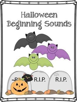 Halloween Beginning Sounds