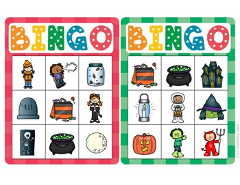 Halloween Beginning Sounds | Beginning Sounds Bingo | Halloween Literacy Center