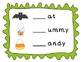 Halloween Beginning Sounds Mats