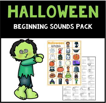 Halloween Beginning Sounds Pack