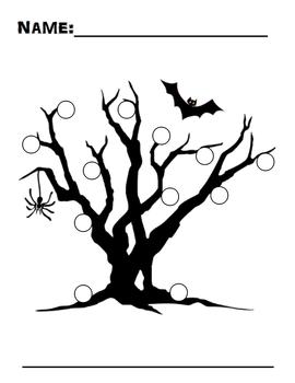 Halloween Behavior Management Sticker Charts
