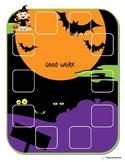 """""""Halloween"""" Behavior Token Boards"""