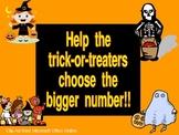 Halloween Bigger Number- Great for AimsWeb Quantity Discrimination!!