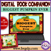Halloween Biggest Pumpkin Ever Lesson