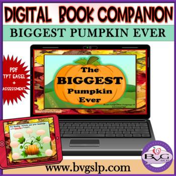 Biggest Pumpkin Ever Halloween Comprehension Unit - Teletherapy