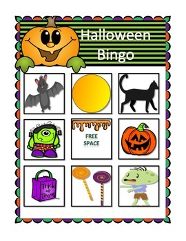 Halloween Bingo!
