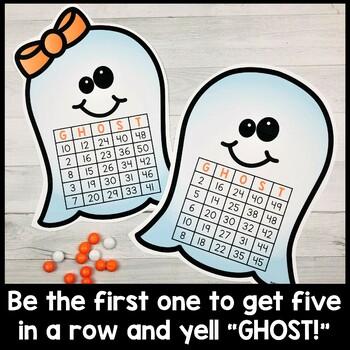 Halloween Bingo (Numbers 1-50)