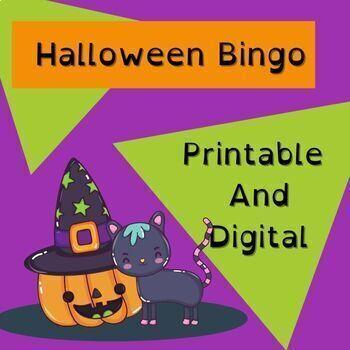 Halloween Bingo for the whole class