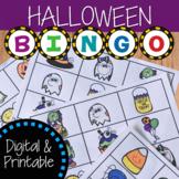 Halloween Bingo Activity | Digital and Printable Game