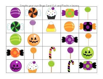Halloween Game Bingo