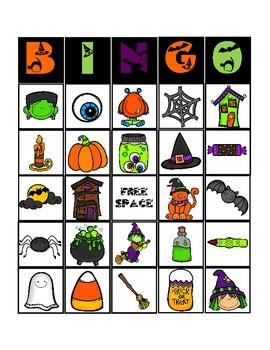 Halloween Bingo
