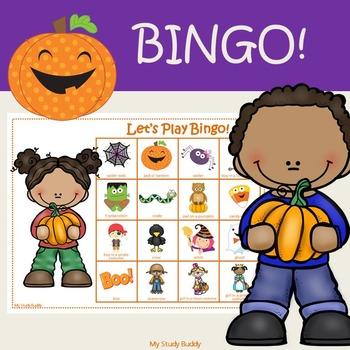 Halloween Bingo Game (Fall Activities, Halloween Activities)