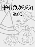 No Prep Halloween Bingo