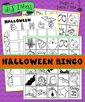 Halloween Bingo Activity Download