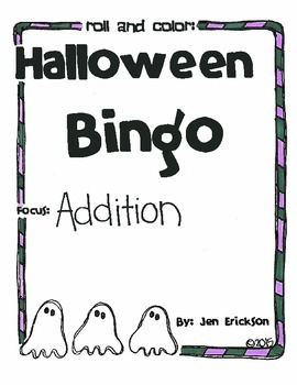 Halloween Bingo: Addition