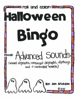 Halloween Bingo:  Advanced Sounds