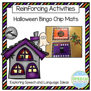 Halloween Bingo Chip Mats