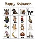 Halloween Bingo Class Set