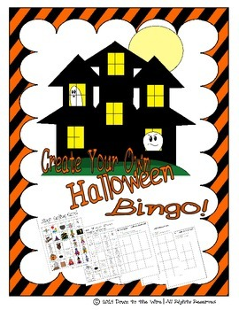 Halloween Bingo - Create Your Own!