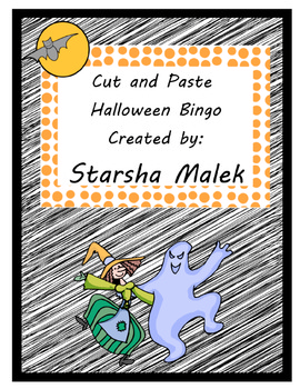 Halloween Bingo-Cut an Paste Cards