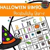 Halloween Bingo Vocabulary Game