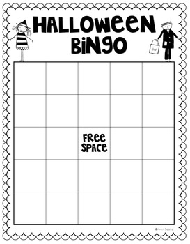 Halloween Bingo by Primarily Speaking by Aimee Salazar