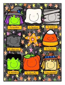 Halloween Bingo ~ French