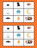 Halloween Bingo - French -Français -lotto
