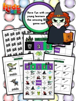 Halloween Bingo / Matching Activity