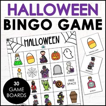 Not-So-Scary Halloween Bingo Game