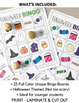 Halloween Bingo Game - 25 Different Cards  (Not-So-Scary) for younger learners