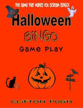 Halloween Bingo Game Play