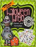 Halloween Bingo and Other Activities