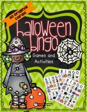 Halloween Bingo and Other Games - Revised Edition 2018