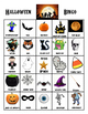 Halloween Bingo/ Matching Game PDF