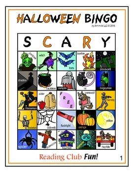 Halloween Bingo (Monster-Size - 60 Boards)