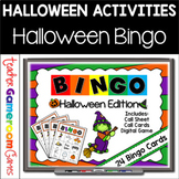 Halloween Bingo Powerpoint Game Kit