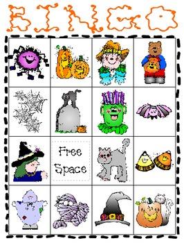 Halloween Bingo Set 1