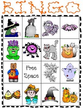 Halloween Bingo Set 2