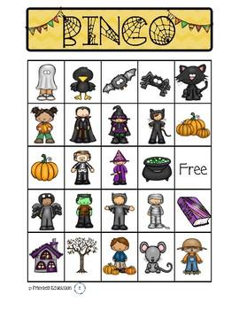 Halloween Bingo & Word Search