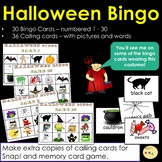 Halloween Bingo!  UK