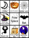 Halloween Bingo with Enlarged Cards