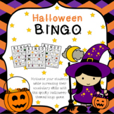 Halloween Bingo Game with Riddles - A Vocabulary Building Activity
