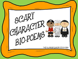 Halloween Bio Poem and Character Trait Activity